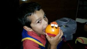 Joey fruit face Nishi