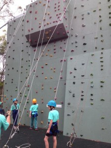 cataract climbing wall