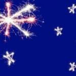 sparkling flag